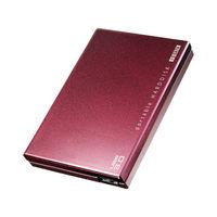 アイ・オー・データ USB3.0対応ポータブルHDD 2TB ボルドー HDPC-UT2DBBR 1台