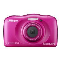 ニコン 防水デジタルカメラ 「COOLPIX」 W100 SDカードセット W100ピンクSET SDHC 1セット