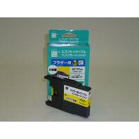 エコリカ リサイクルインク ECI-BR17Y イエロー(大容量)(ブラザー LC17Y イエロー互換)