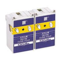 エコリカ リサイクルインク ECI-E06C2P 5色一体型 1パック(2個入)(エプソン IC5CL06W互換)