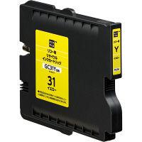 エコリカ リサイクルインク ECI-RC31Y イエロー(リコー GC31Y互換)