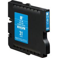 エコリカ リサイクルインク ECI-RC31C シアン(リコー GC31C互換)