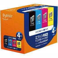 プレジール 互換インク PLE-E624P 1パック(4色入)(エプソン IC4CL62互換)