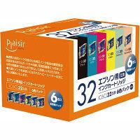 プレジール 互換インク PLE-E326P 1パック(6色入)(エプソン IC6CL32互換)