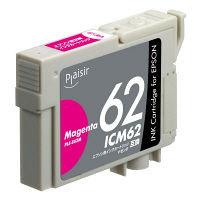 プレジール 互換インク PLE-E62M マゼンタ(エプソン ICM62互換)