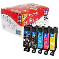 ジット リサイクルインク JIT-C3253265P 1パック(5色入)(キヤノン BCI-326+325/5MP互換)