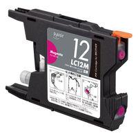 プレジール 互換インク PLE-BR12M マゼンタ(ブラザー LC12M互換)