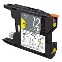 プレジール 互換インク PLE-BR12Y イエロー(ブラザー LC12Y互換)