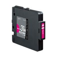 プレジール 互換インク PLE-RC31HM マゼンタ(大容量)(リコー GC31MH互換)