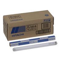 日立ライティング 一般形蛍光ランプ(一波長形) 10W形 グロースタータ形 昼光色 FL10D-B 1箱(25本入)