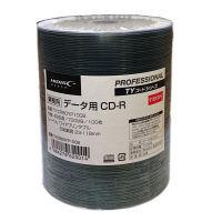 磁気研究所 CD-R データ用 100枚 シュリンクパック ホワイトワイド TYCR80YP100B