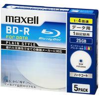 マクセル PCデータ用BD-R 25GB 4倍速 BR25PPLWPB.5S 1パック(5枚入)