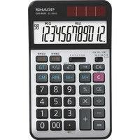 シャープ 経理仕様電卓 ナイスサイズ EL-N942-X 1個