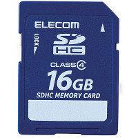 エレコム SDHCカード 16GB Class4 ( MF-FSD016GC4R )
