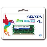 メモリ 4GB DDR3L Low Voltage SOーDIMM (1600) ー512x8 リテールパッケージ ADDS1600W4G11-R  (直送品)