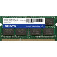 メモリ 8GB DDR3L Low Voltage SOーDIMM (1600) ー512x8 リテールパッケージ ADDS1600W8G11-R  (直送品)