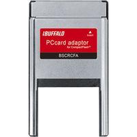 バッファロー CFカード専用 PCカードアダプター BSCRCFA 1台  (直送品)