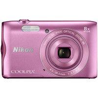 ニコン デジタルカメラ COOLPIX A300 ピンク COOLPIXA300PK 1式  (直送品)