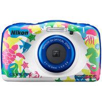 ニコン デジタルカメラ COOLPIX W100 マリン COOLPIXW100MR 1式  (直送品)