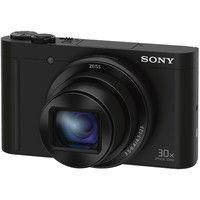 ソニー デジタルスチルカメラ Cyberーshot WX500 (1820万画素CMOS/光学x30) ブラック DSC-WX500/B 1台  (直送品)