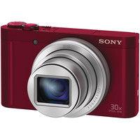 ソニー デジタルスチルカメラ Cyberーshot WX500 (1820万画素CMOS/光学x30) レッド DSC-WX500/R 1台  (直送品)