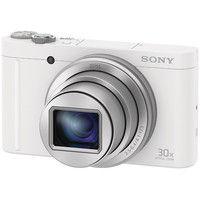 ソニー デジタルスチルカメラ Cyberーshot WX500 (1820万画素CMOS/光学x30) ホワイト DSC-WX500/W 1台  (直送品)