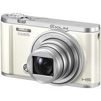 カシオ計算機 デジタルカメラ HIGH SPEED EXILIM EXーZR3200 ホワイト EX-ZR3200WE 1台  (直送品)