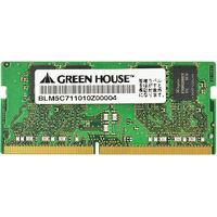 グリーンハウス ノート用 PC4ー17000 DDR4 SOーDIMM 8GB GH-DNF2133-8GB 1枚  (直送品)