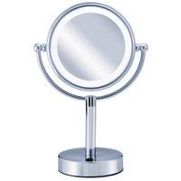 <LOHACO> 小泉成器 ビジョーナ 拡大鏡(引き寄せミラー) 卓上タイプ 丸小 KBE-3010/S 1台 (直送品)画像