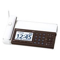 パナソニック デジタルコードレス普通紙ファクス(子機なし)(ピアノホワイト) KX-PD102D-W 1台  (直送品)