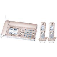 パナソニック デジタルコードレス普通紙ファクス(子機2台付き)(ピンクゴールド) KX-PD305DW-N 1台  (直送品)