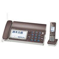 パナソニック デジタルコードレス普通紙ファクス(子機1台付き)(ブラウン) KX-PD615DL-T 1台  (直送品)