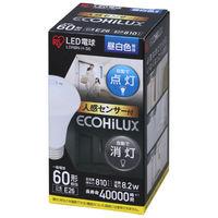 アイリスオーヤマ LED電球 人感センサー付 E26 60形相当 昼白色 LDR8N-H-S6 1個  (直送品)