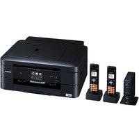 ブラザー A4インクジェット複合機/FAX/10/12ipm/デジタル子機2台/両面印刷/無線LAN/ADF MFC-J907DWN 1台  (直送品)