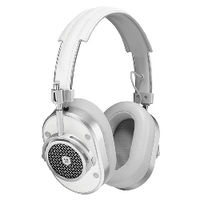 MASTER&DYNAMIC 密閉型ヘッドホン MH40 SILVER/WHITE MH40-WHT 1台  (直送品)