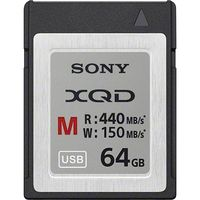 ソニー XQDメモリーカード Mシリーズ 64GB QD-M64A 1個  (直送品)