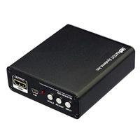 ラトックシステム 4K対応 コンポジット/Sビデオ to HDMIアップスキャンコンバーター REX-AV2HD-4K 1本  (直送品)