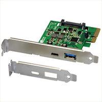 ラトックシステム USB3.1 PCI Expressボード (TypeーA/TypeーC) REX-PEU31-AC 1台  (直送品)