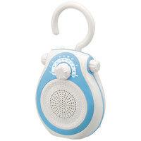 コイズミファニテック シャワーラジオ ブルー SAD-7712/A 1台