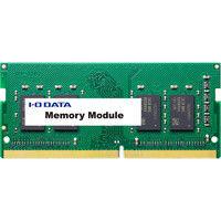 アイ・オー・データ機器 PC4ー2400(DDR4ー2400)対応ノートPC用メモリー 4GB SDZ2400-H4G 1個  (直送品)