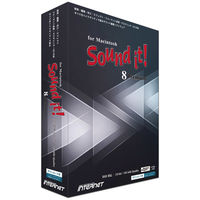 インターネット Sound it! 8 Premium for Macintosh SIT80M-PR 1本(直送品)
