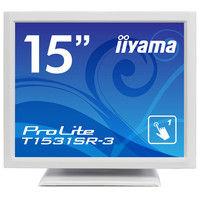 iiyama 15型液晶ディスプレイ ProLite T1531SRー3 (抵抗膜方式タッチパネル) ピュアホワイト T1531SR-W3 1台  (直送品)