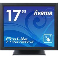 iiyama 17型液晶ディスプレイ ProLite T1731SRー2 (抵抗膜方式タッチパネル) マーベルブラック T1731SR-B2 1台  (直送品)