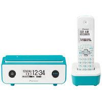 パイオニア デジタルフルコードレス留守番電話機 子機1台タイプ ターコイズブルー TF-FD35W(L) 1個  (直送品)