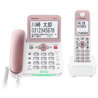 パイオニア デジタルコードレス留守番電話機 子機1台タイプ ライトピンク TF-SA70S-P 1個  (直送品)