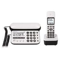パイオニア デジタルコードレス留守番電話機(子機1台) ピュアホワイト TF-SD15S-PW 1個  (直送品)