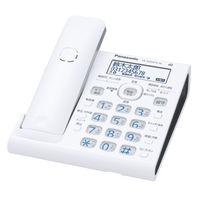 パナソニック コードレス電話機(子機なし) (ホワイト) VE-GDW54D-W 1台  (直送品)