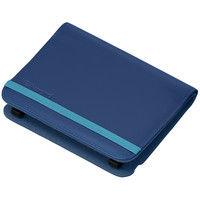 カシオ計算機 電子辞書・EXーword Kシリーズ用ブックカバータイプケース[ダークブルー] XD-CC2305DB 1台  (直送品)