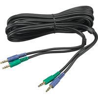 ヤマハ YVCー300用連結ケーブル YCBL-DC3M 1式  (直送品)