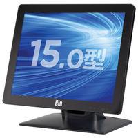 15型投影型静電容量方式TFTマルチタッチパネルモニター USBコントローラ内蔵 ブラック ET1523L-2UWA-1-BL-MT-ZB-G  (直送品)